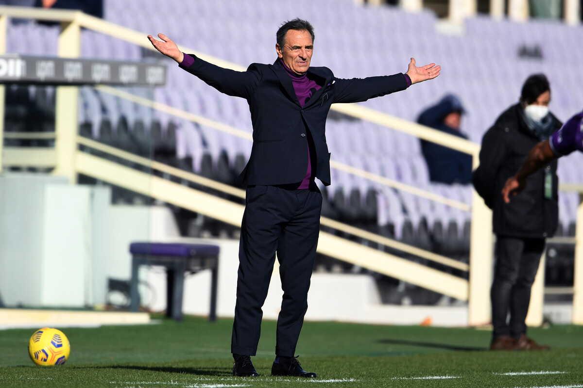Cesare Prandelli, tecnico della Fiorentina @imagephotoagency