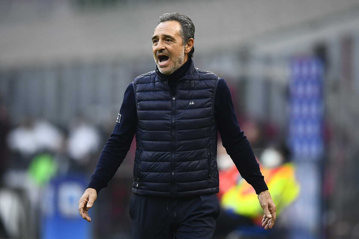 Cesare Prandelli, allenatore della Fiorentina @imagephotoagency