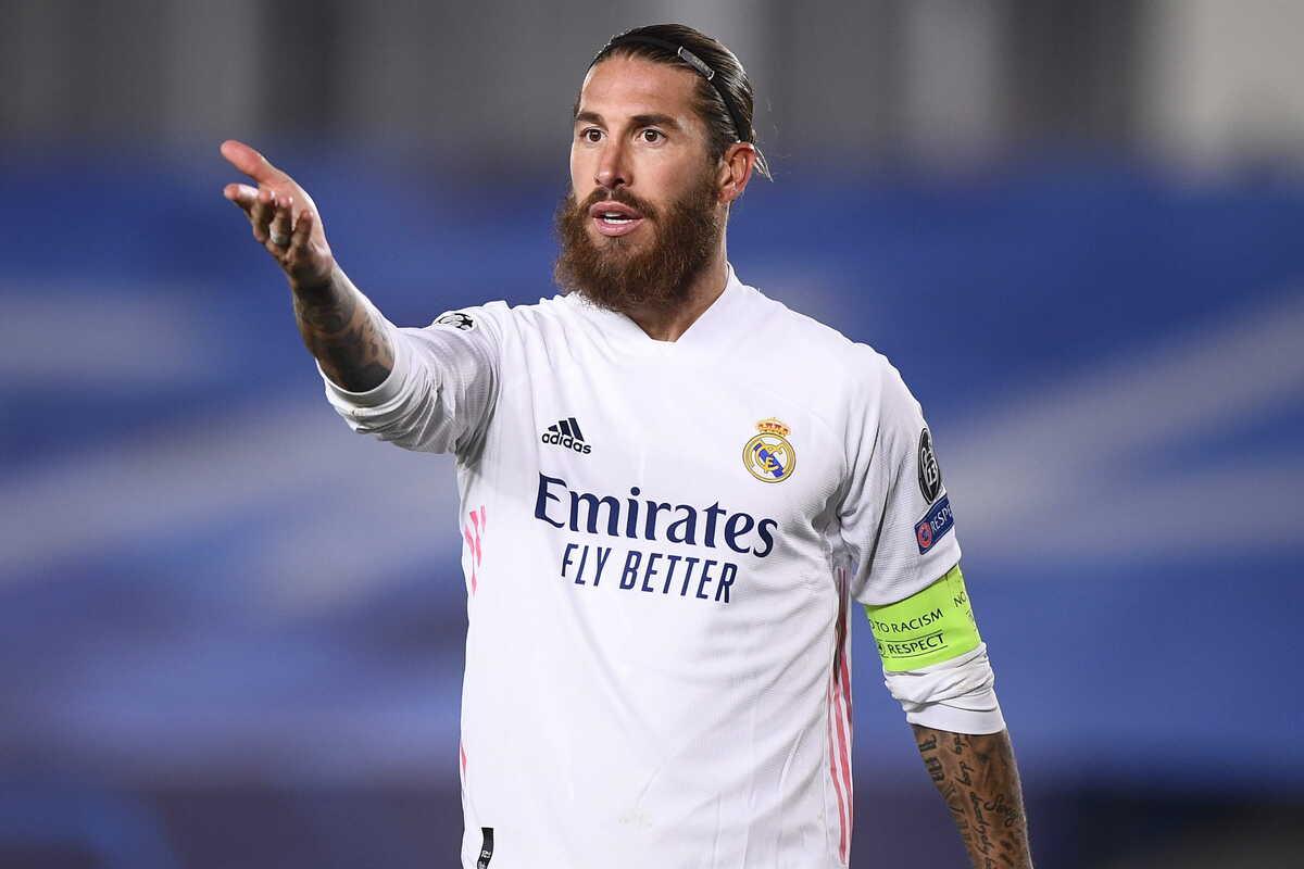 Sergio Ramos, difensore del Real Madrid @imagephotoagency