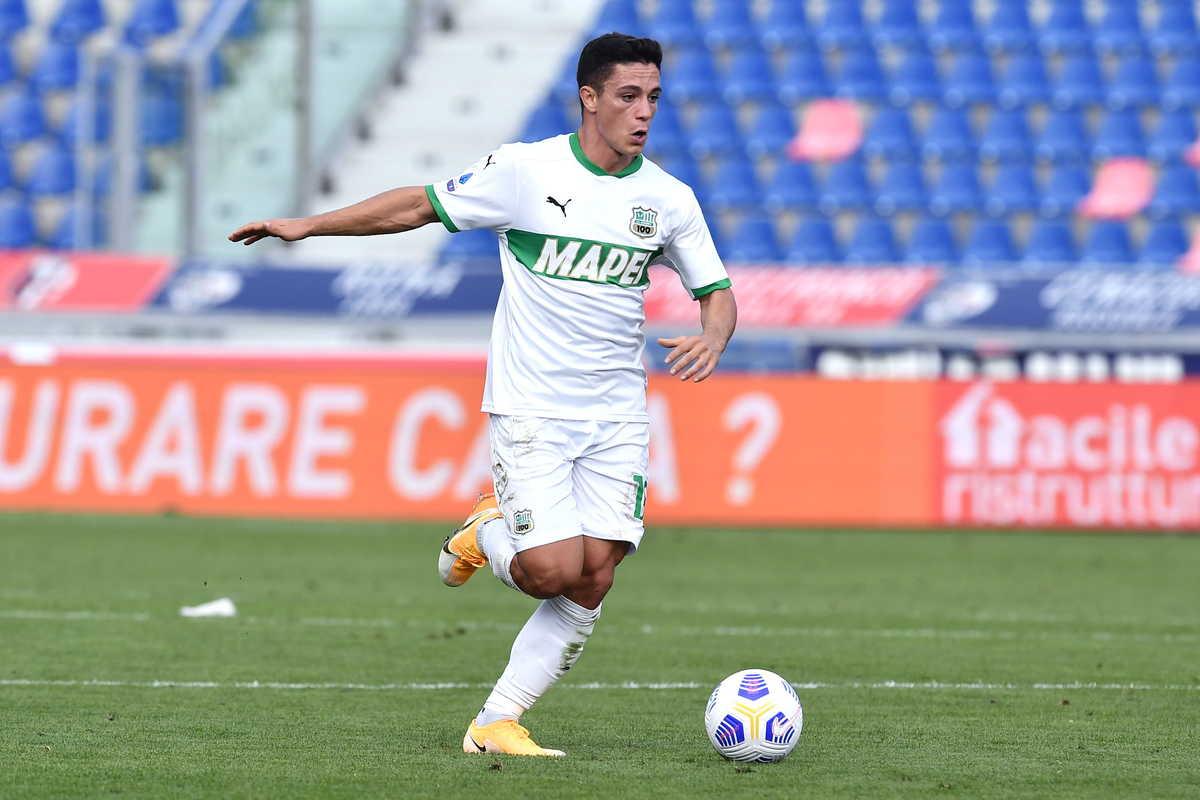 Giacomo Raspadori, attaccante del Sassuolo @imagephotoagency