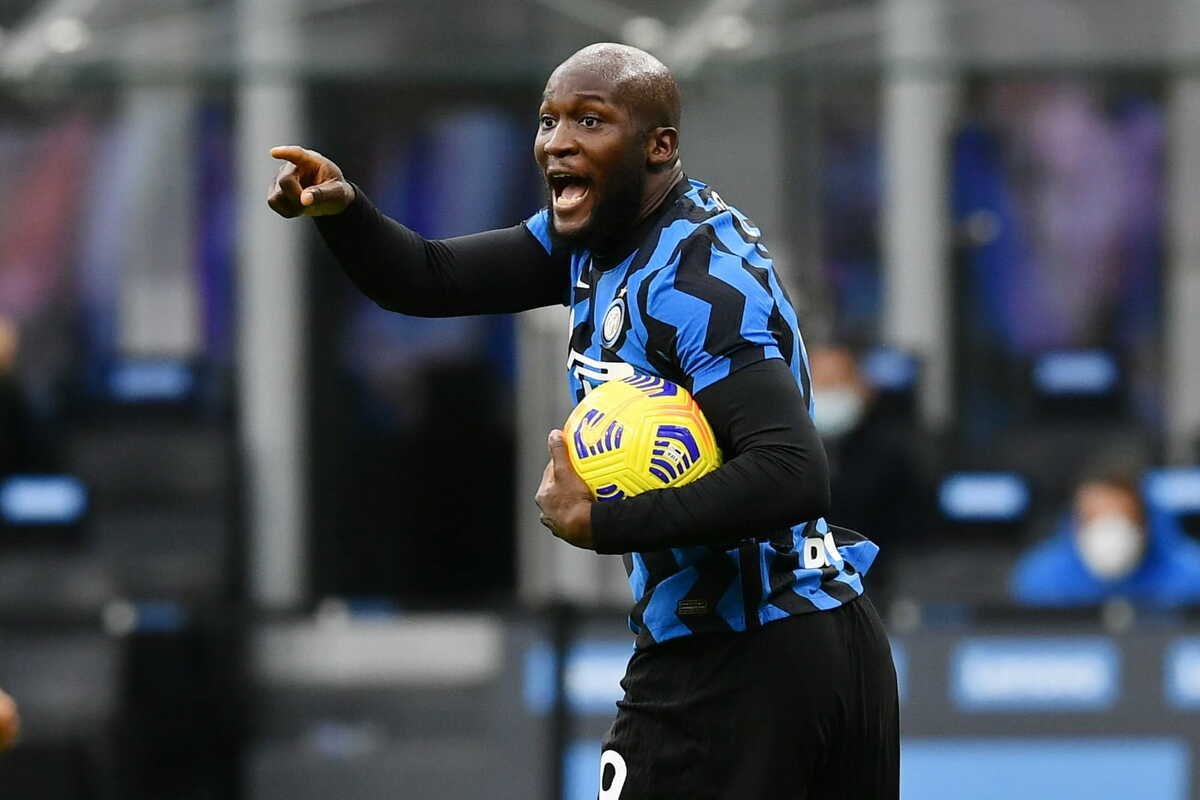 Romelu Lukaku, attaccante dell'Inter @imagephotoagency