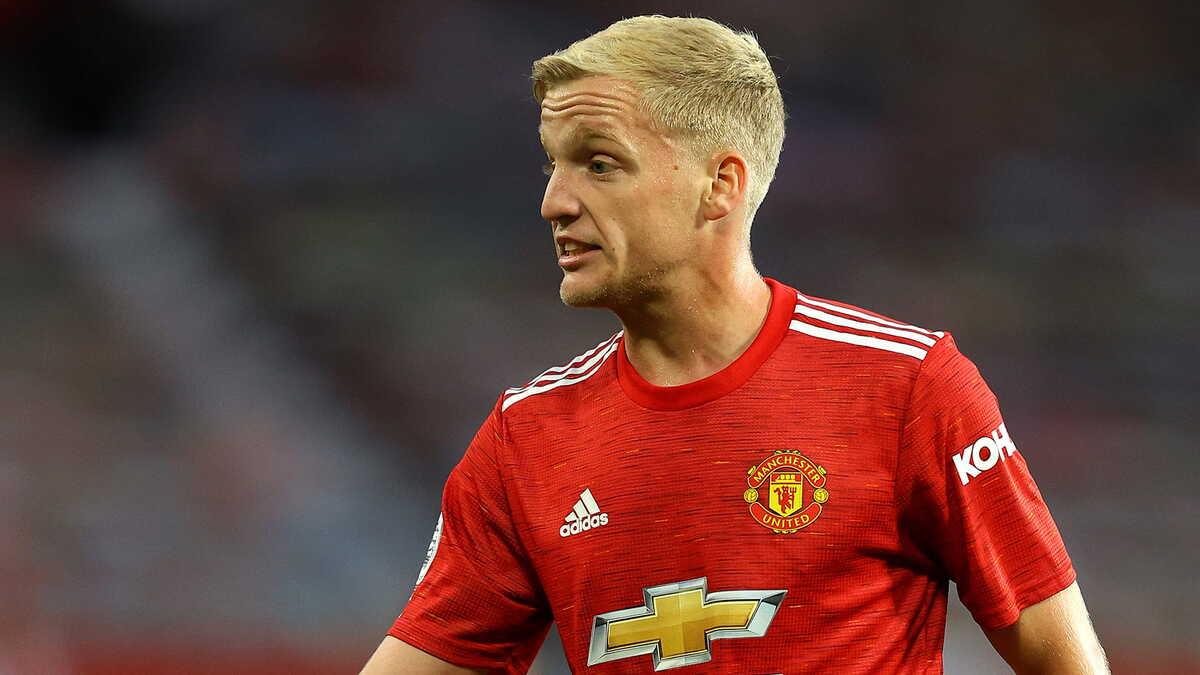 Donny van de Beek, centrocampista del Manchester United