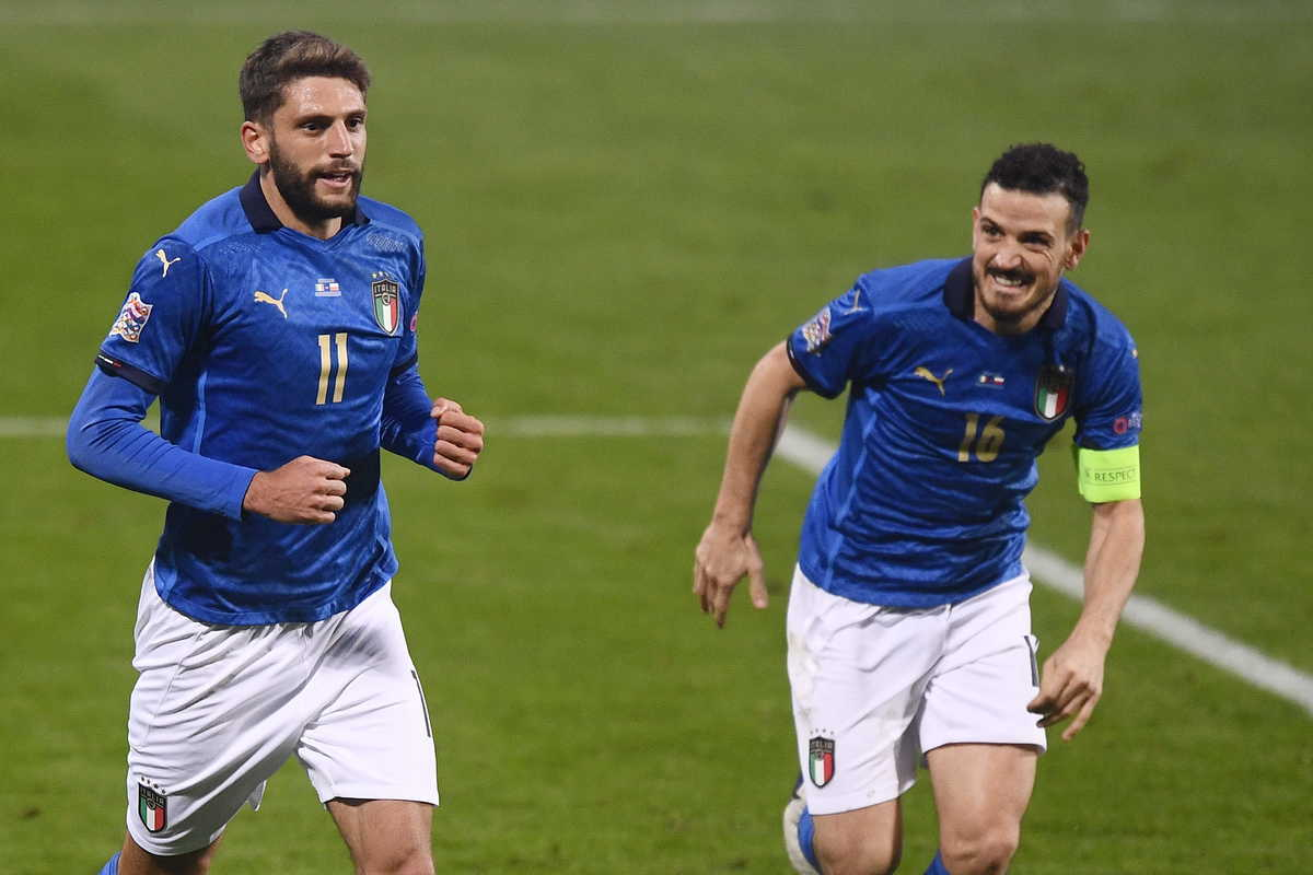 Domenico Berardi, attaccante del Sassuolo e della Nazionale italiana @imagephotoagency