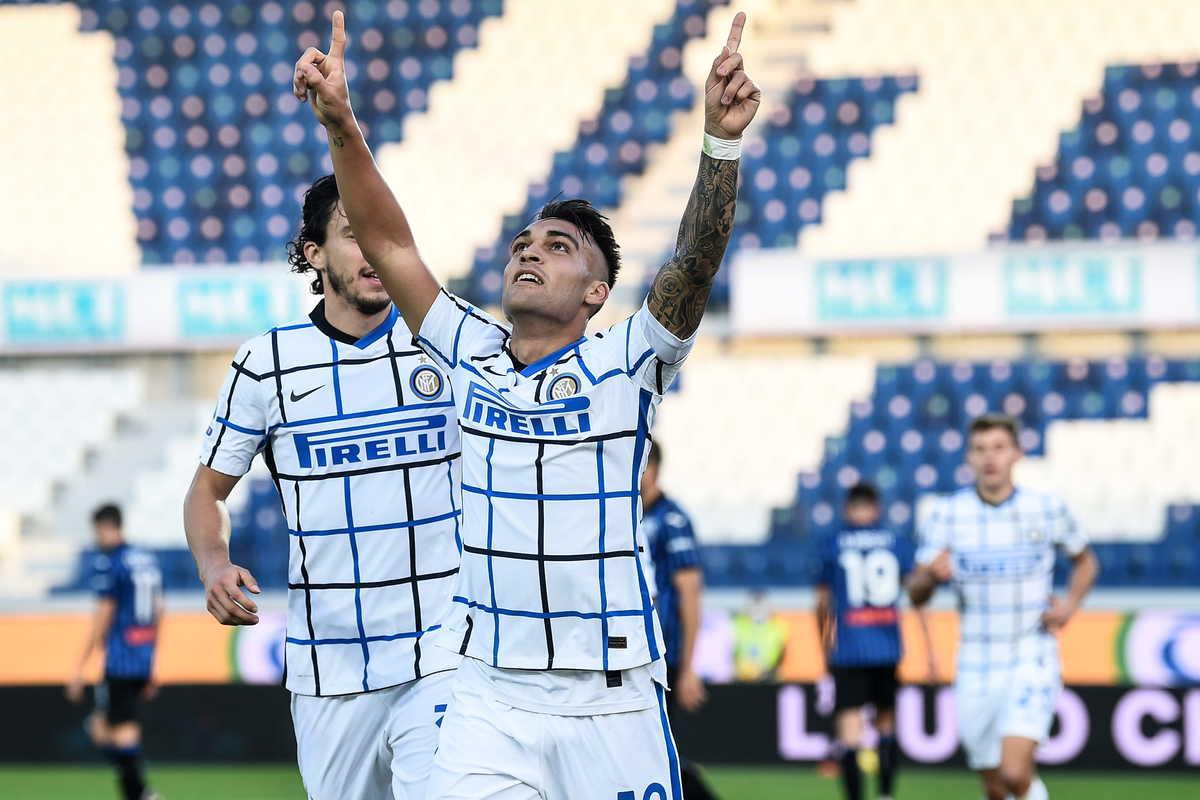 Lautaro Martinez, attaccante dell'Inter @imagephotoagency