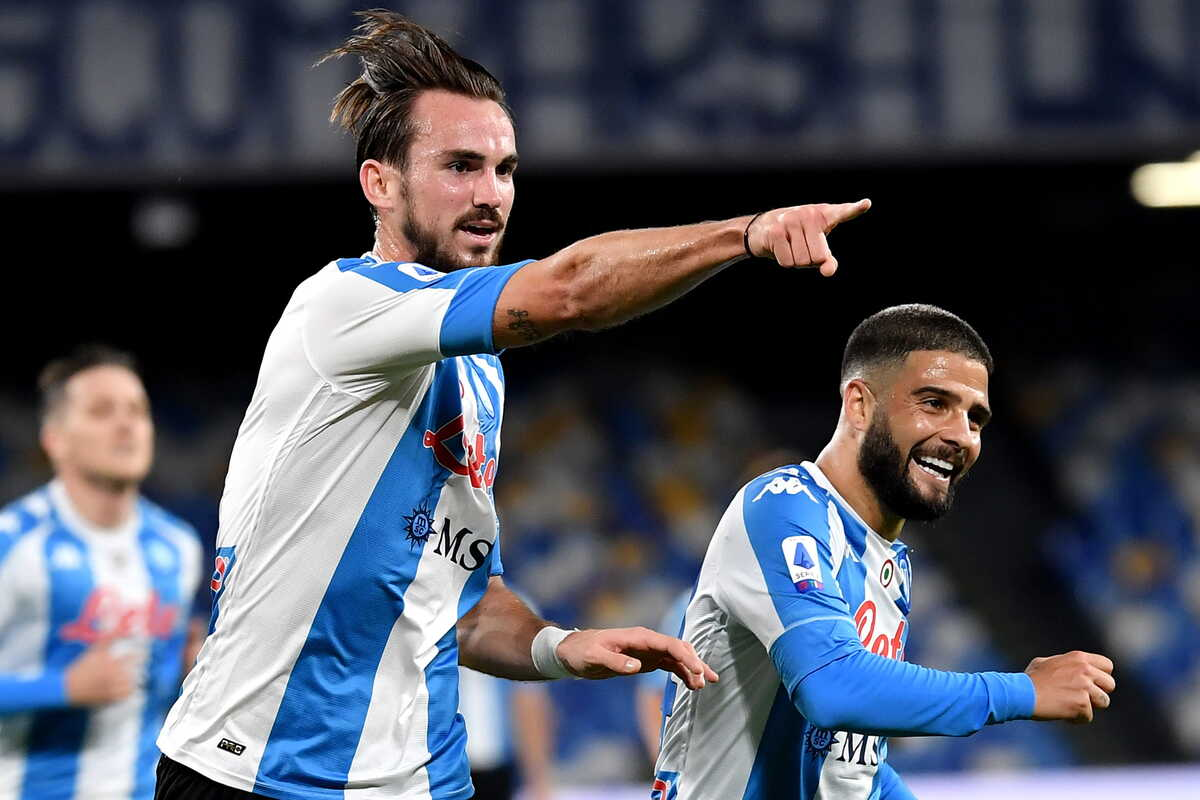 Fabian Ruiz, centrocampista del Napoli @imagephotoagency