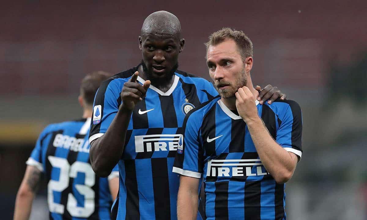 Romelu Lukaku e Eriksen (Inter)
