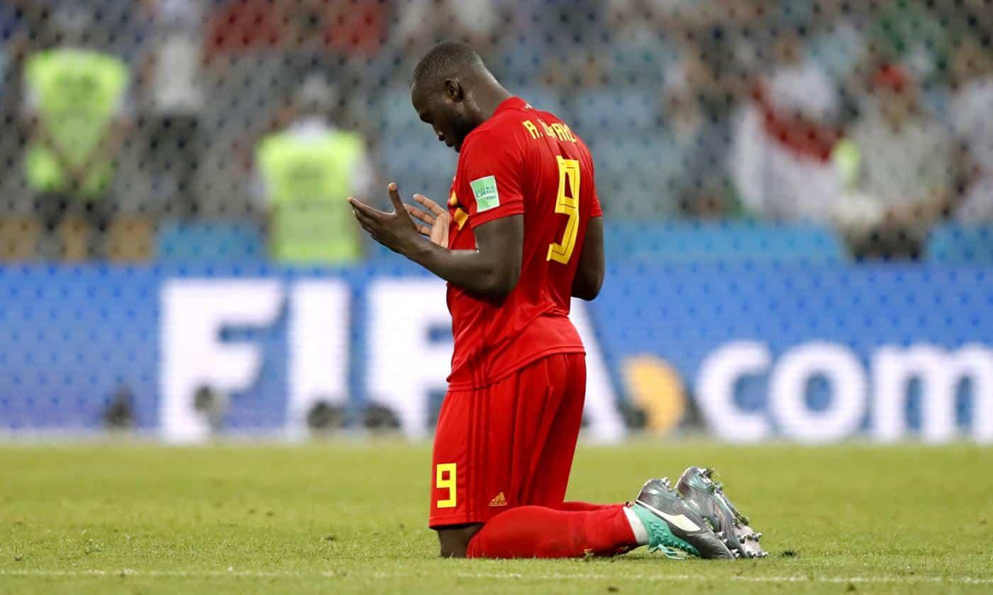 Romelu Lukaku, attaccante dell'Inter e del Belgio