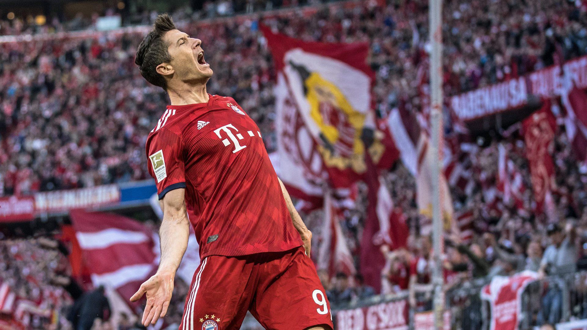 Robert Lewandowski attaccante del Bayern Monaco