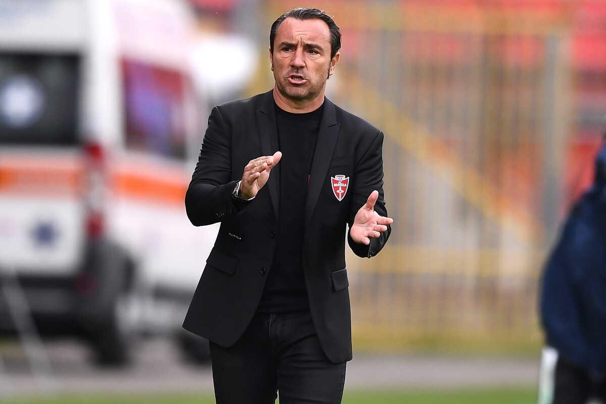 Christian Brocchi, allenatore del Monza @Image Sport