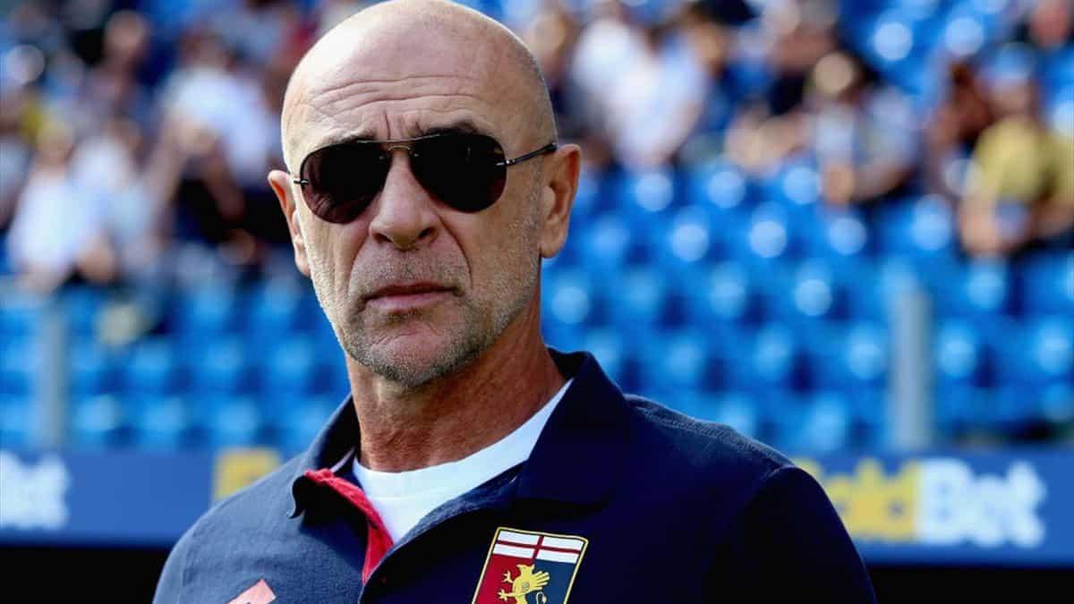 Davide Ballardini, tecnico del Genoa