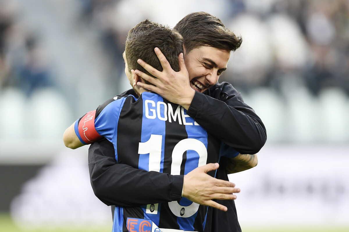 Dybala (Juventus) e Gomez (Atalanta) @Image Sport