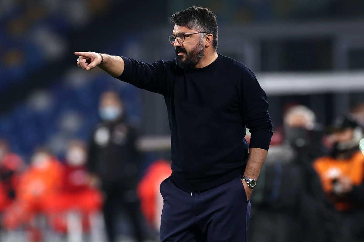 Gennaro Gattuso, allenatore del Napoli @Image Sport