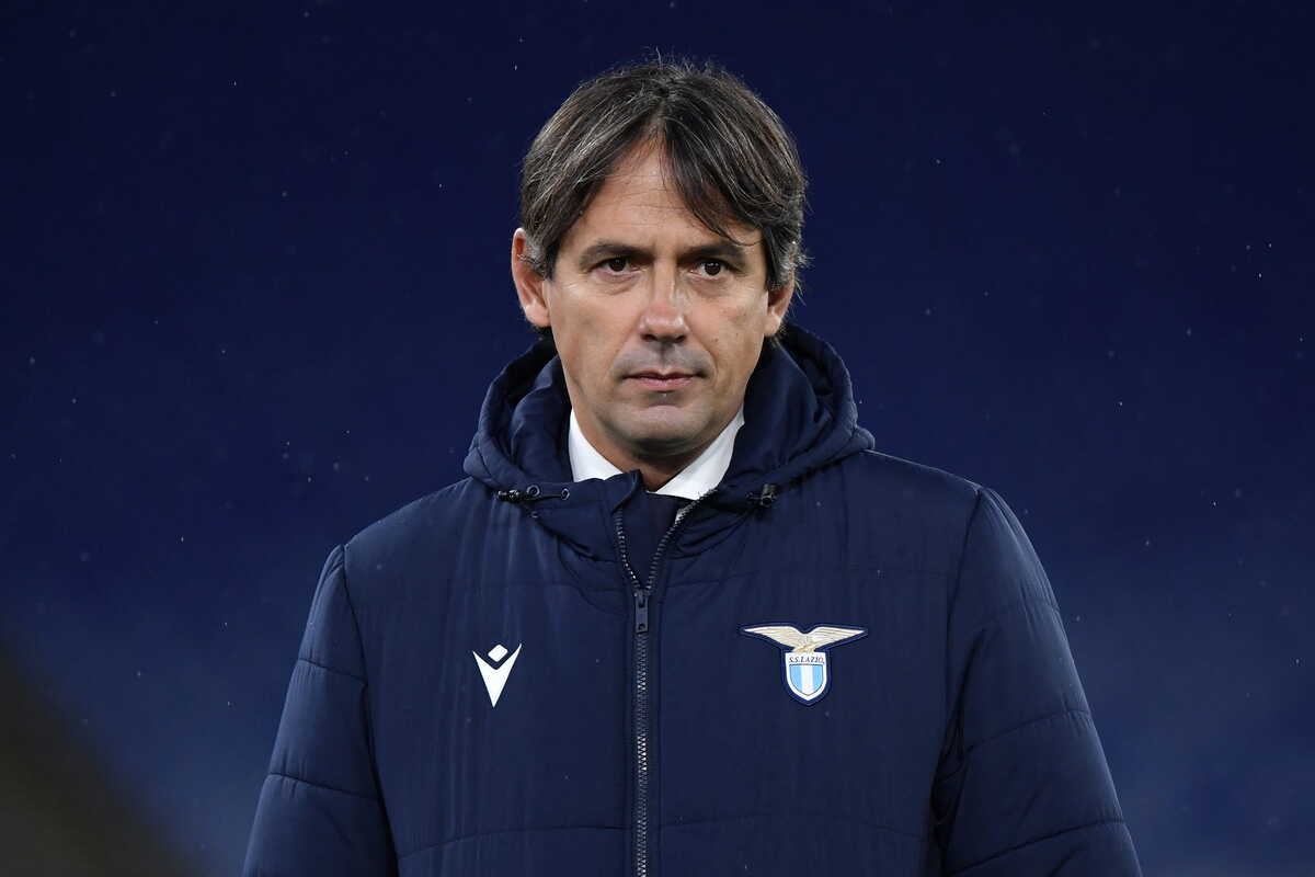 Simone Inzaghi, allenatore della Lazio @Image Sport
