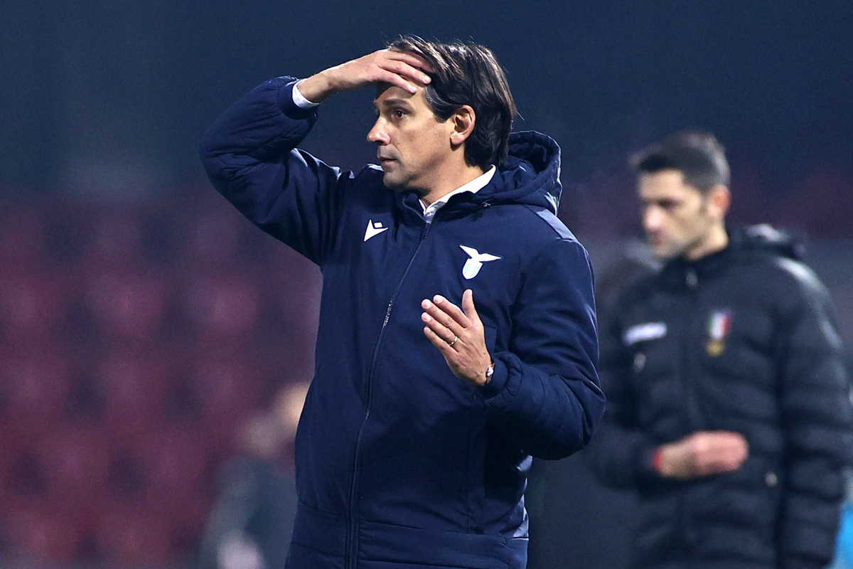 Simone Inzaghi, tecnico della Lazio @Image Sport