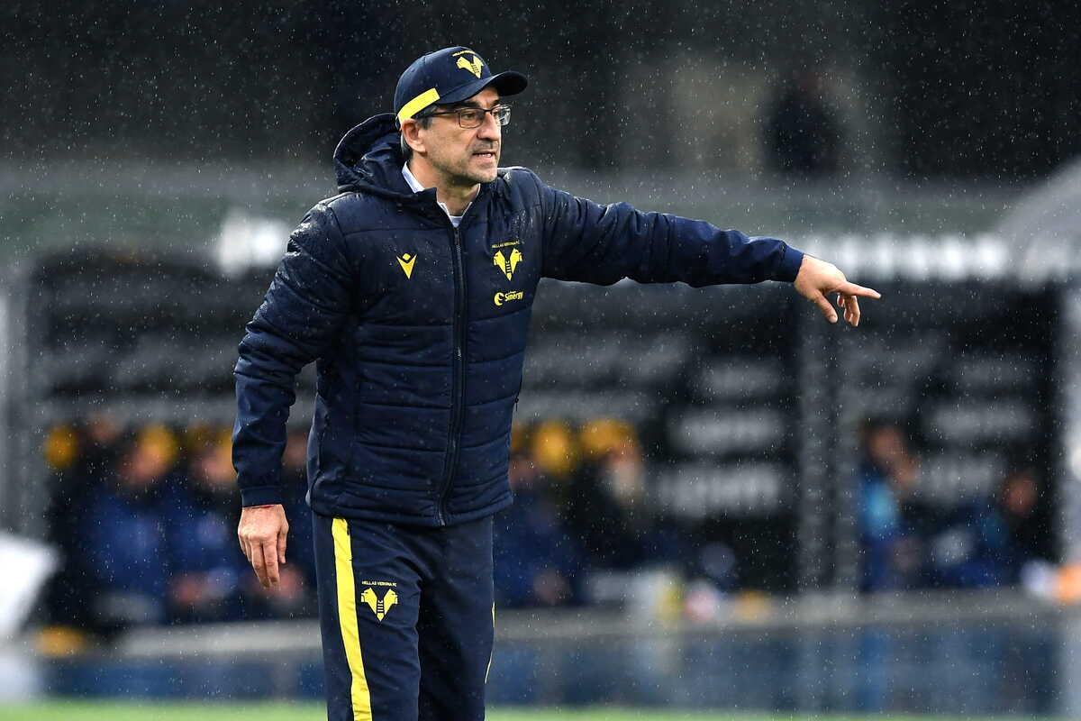 Ivan Juric, allenatore dell'Hellas Verona (foto by @imagephotoagency)