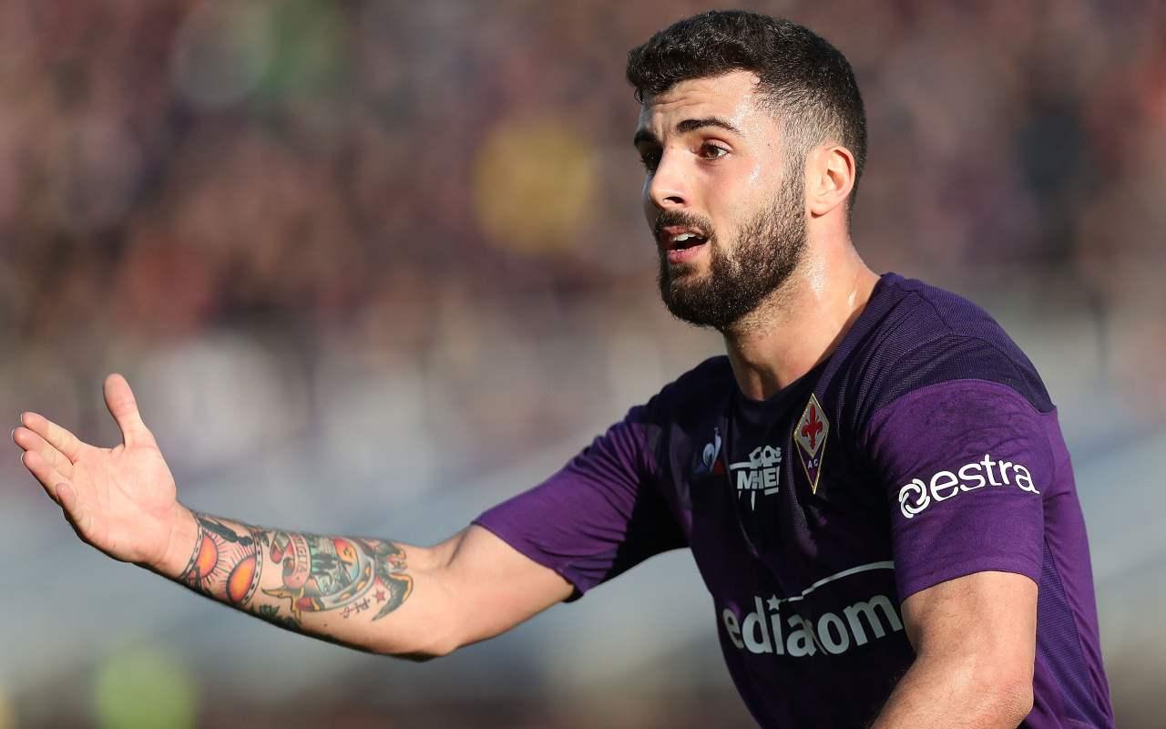 Patrick Cutrone, attaccante della Fiorentina