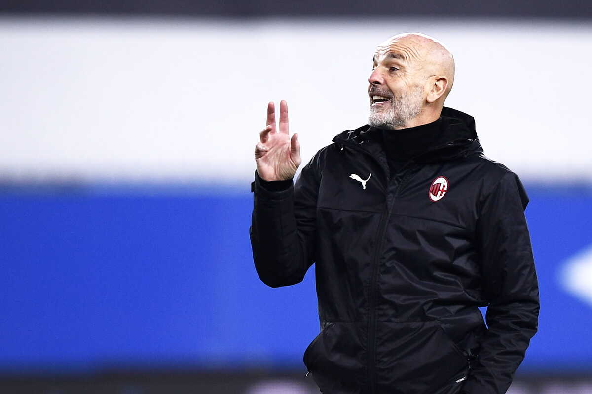 Stefano Pioli, allenatore del Milan @Image Sport