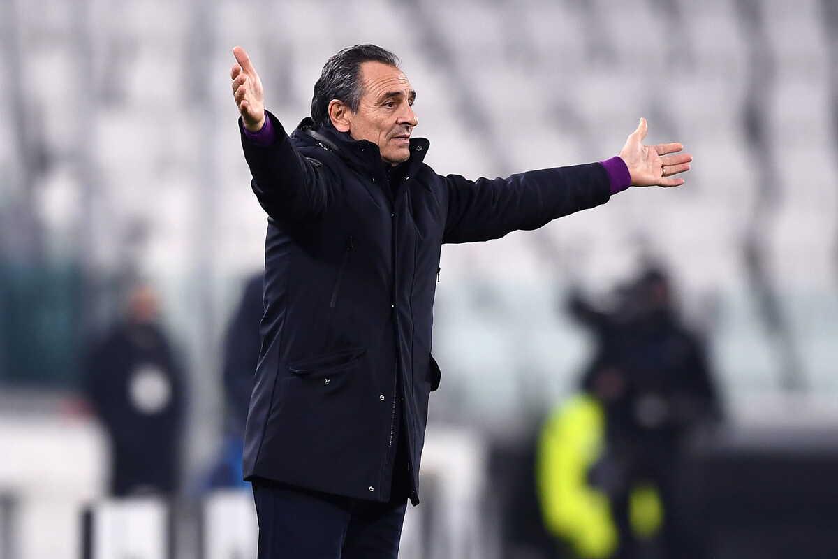 Cesare Prandelli, tecnico della Fiorentina @Image Sport
