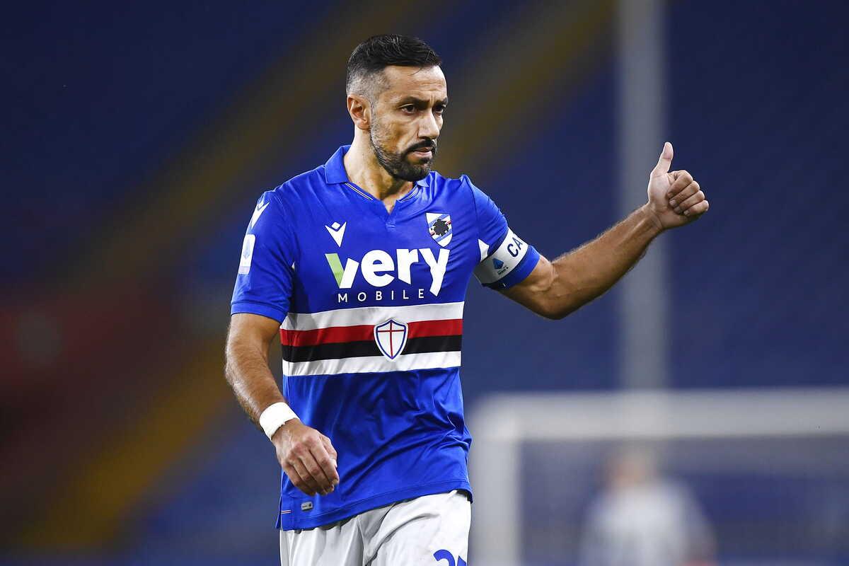Fabio Quagliarella, attaccante della Sampdoria @Image Sport