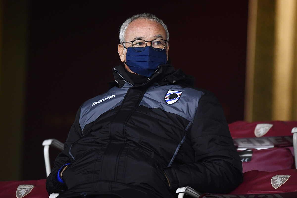 Claudio Ranieri, allenatore della Sampdoria @imagephotoagency