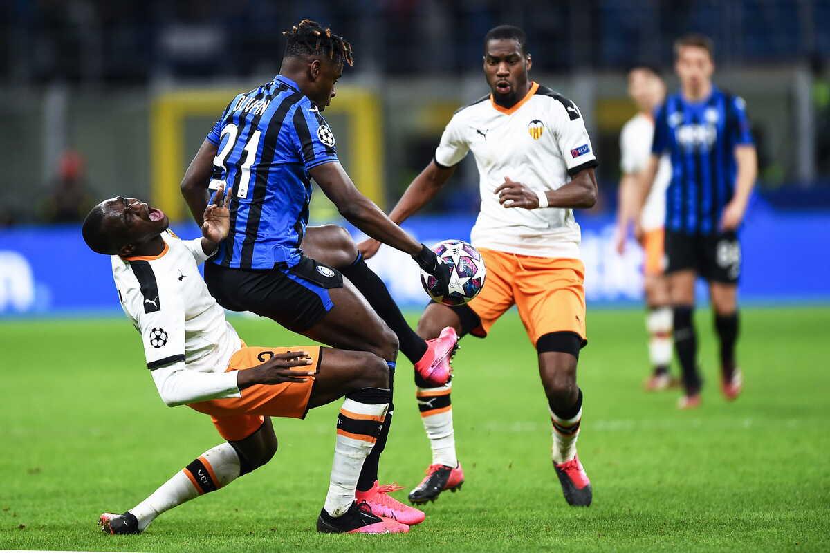 Atalanta-Valencia, gara degli ottavi di finale della scorsa edizione della Champions League @Image Sport