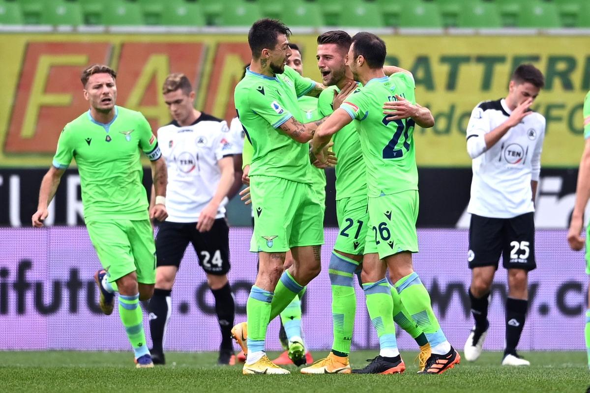 Esultanza Lazio @Image Sport