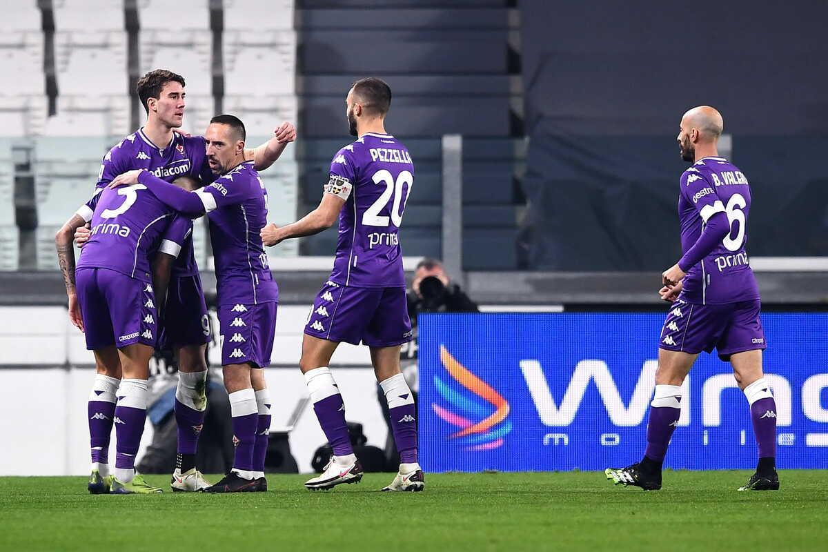 Esultanza Fiorentina @Image Sport