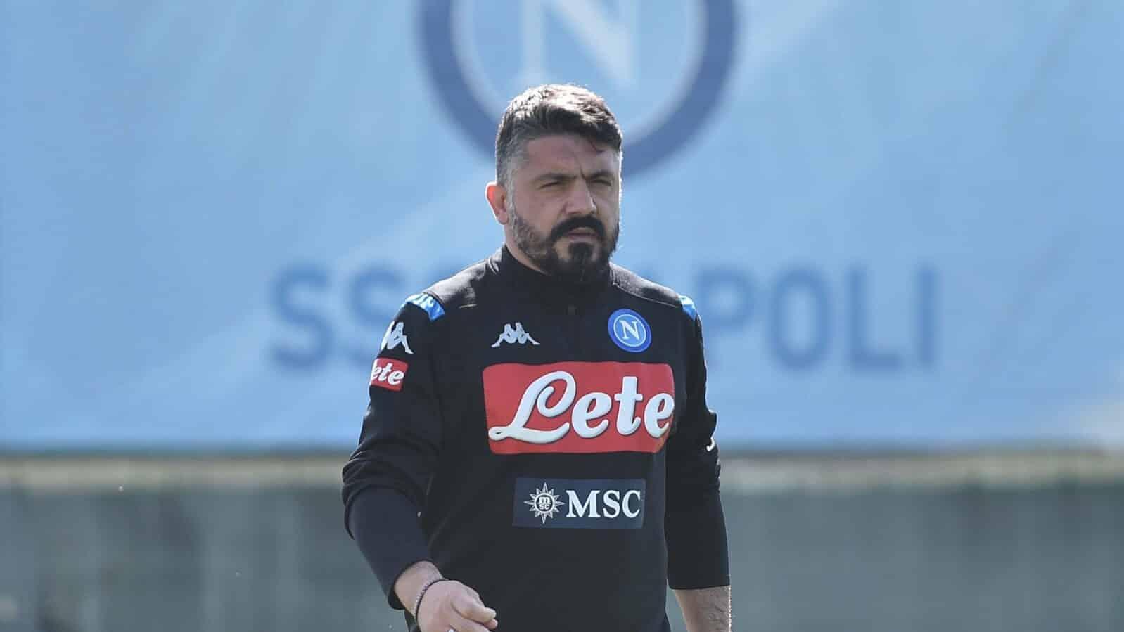 Gennaro Gattuso tecnico del Napoli