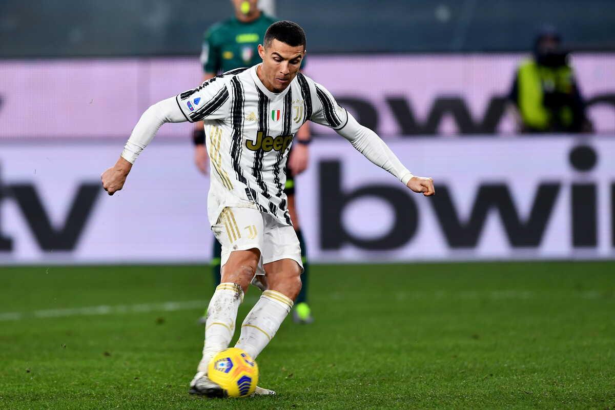 Cristiano Ronaldo, attaccante della Juventus @Image Sport