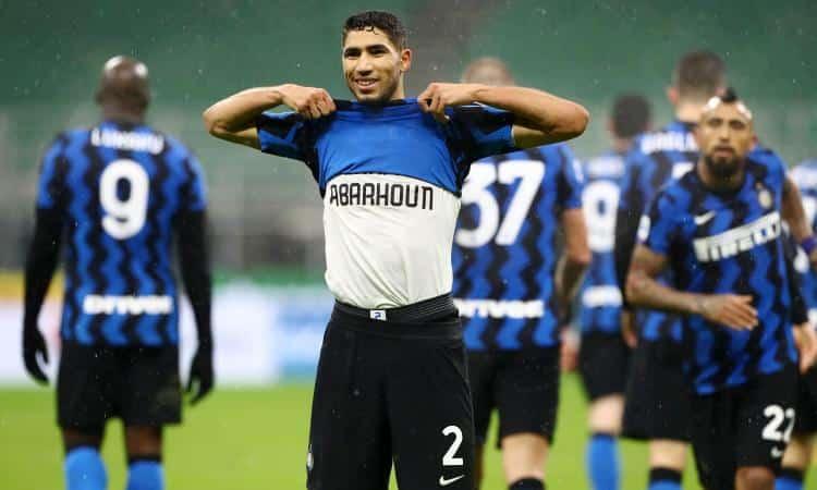 Hakimi, giocatore dell'Inter