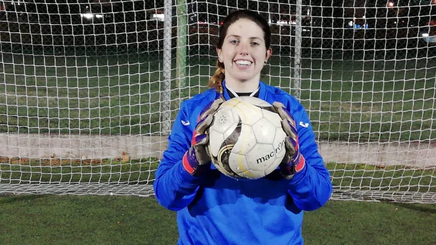 Ilaria Giorgi, portiere del Riccione Calcio Femminile