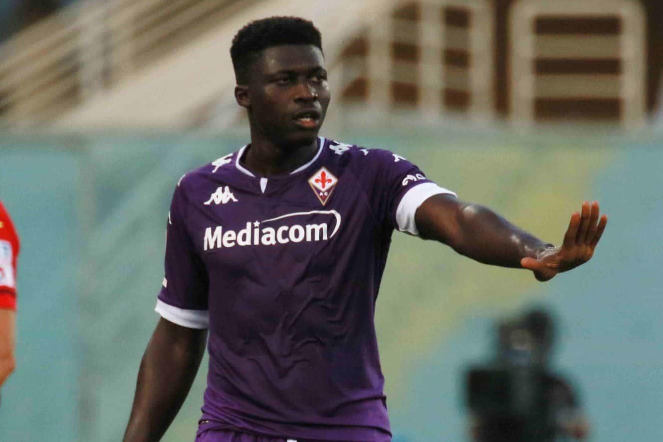 Alfred Duncan, centrocampista della Fiorentina