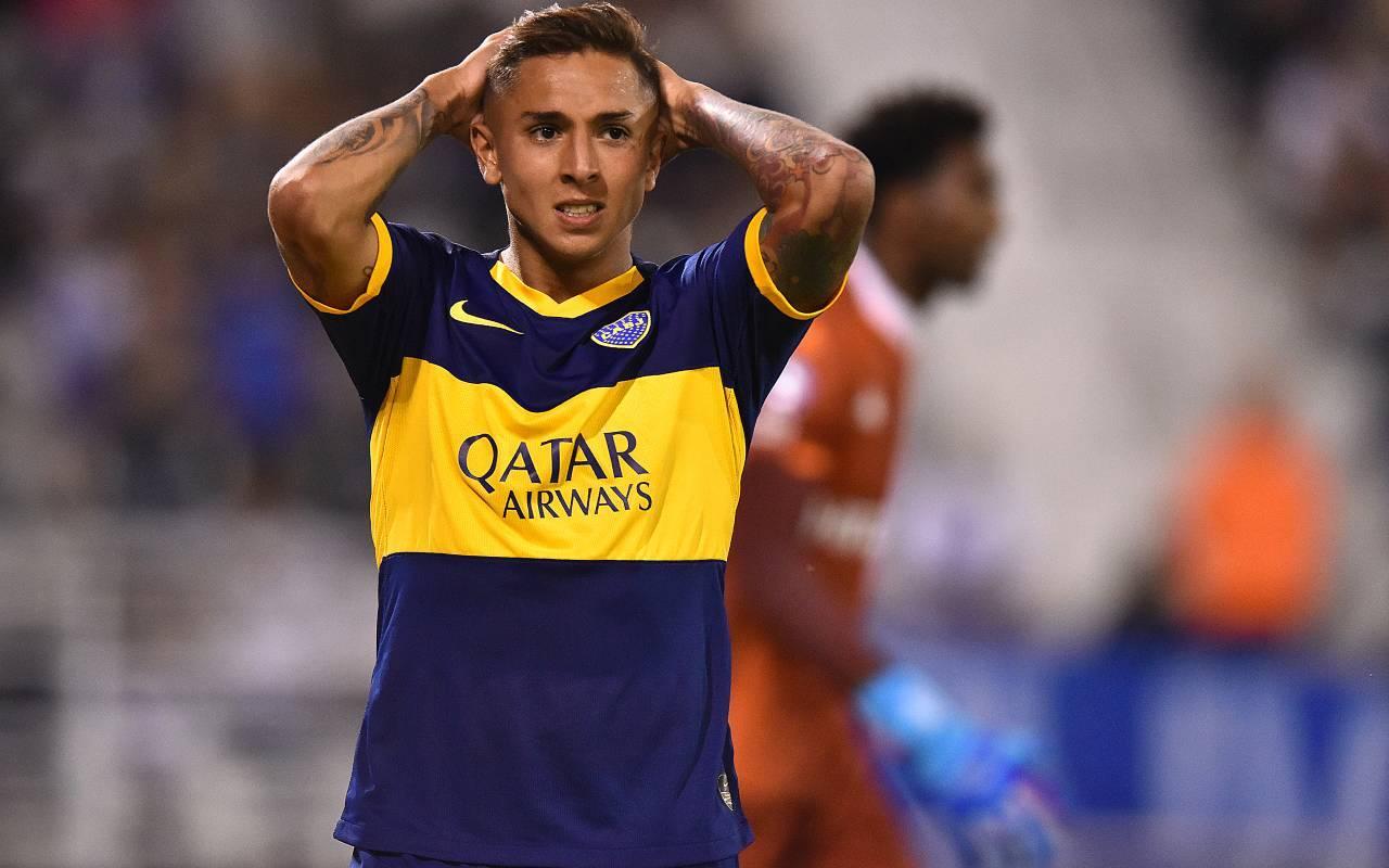 Augustin Almendra, mediano del Boca Juniors