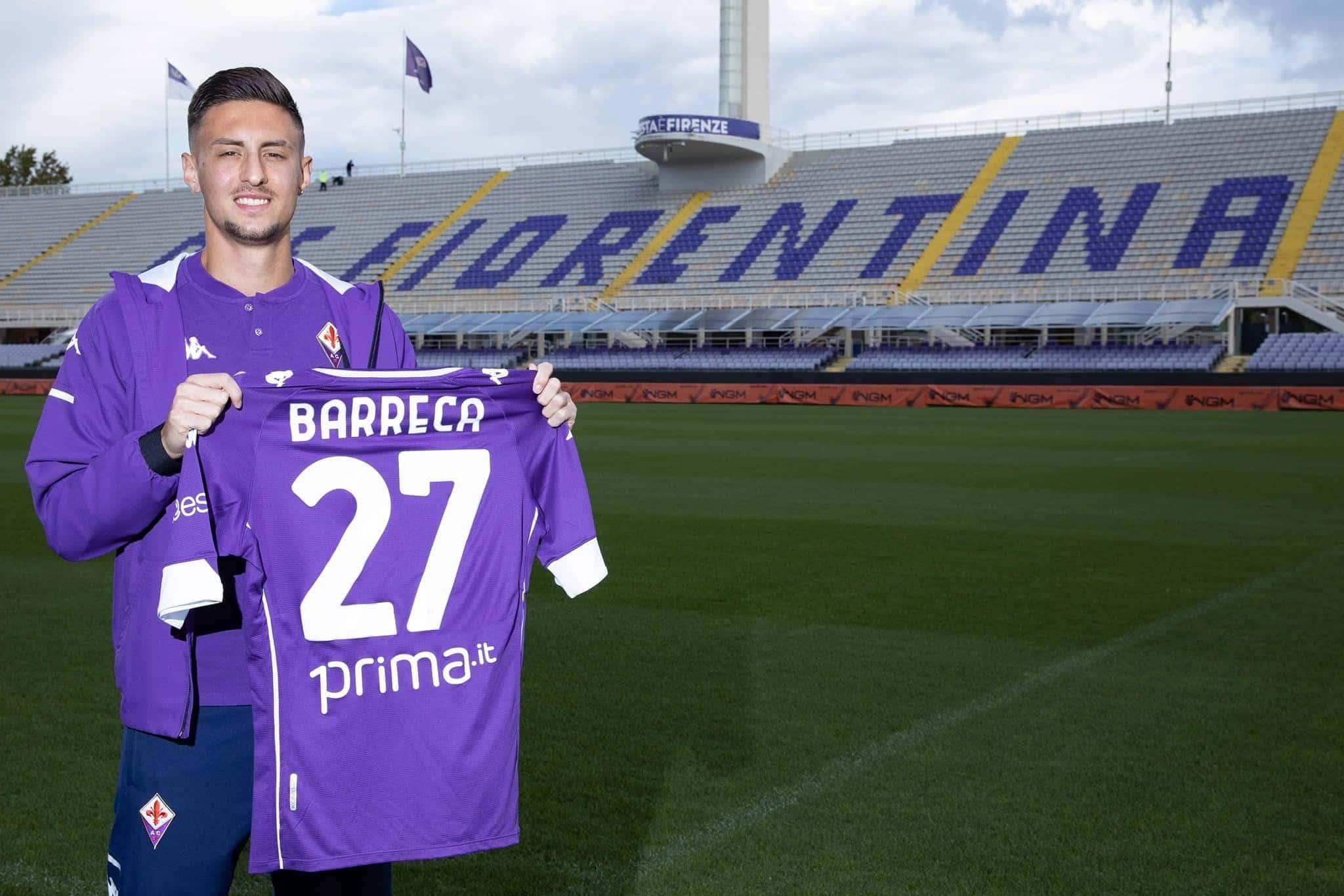 Antonio Barreca, terzino della Fiorentina
