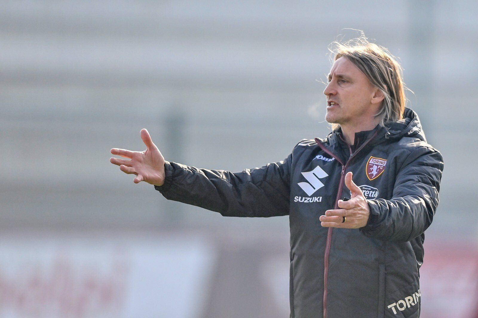 Davide Nicola, allenatore del Torino