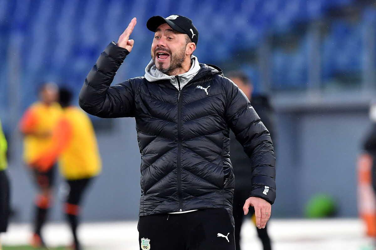 Roberto De Zerbi, allenatore del Sassuolo @imagephotoagency