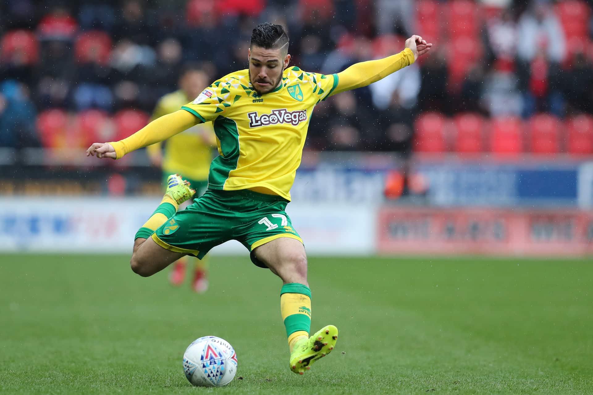 Emiliano Buendia, attaccante argentino del Norwich