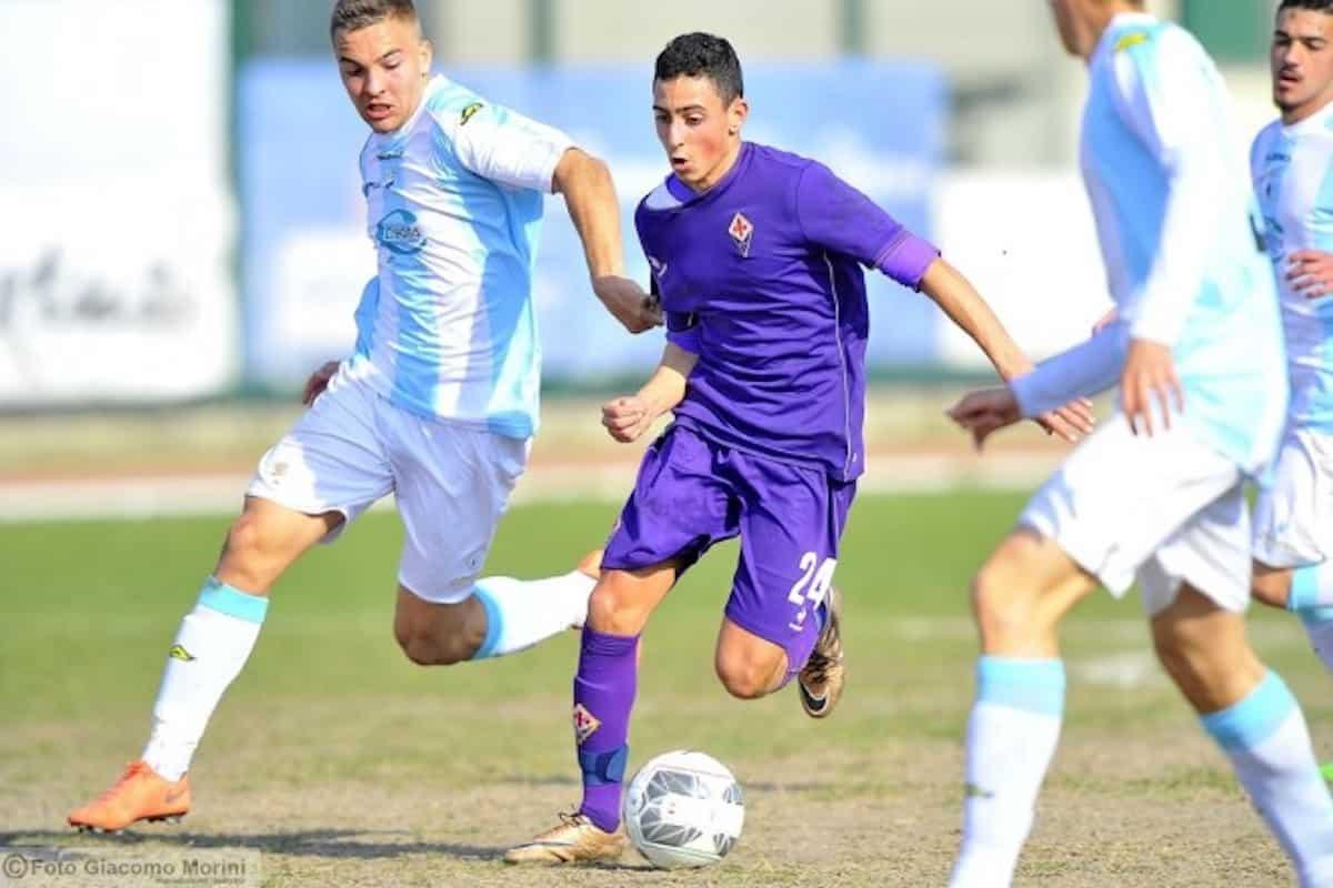 Giuseppe Caso, attaccante ex Fiorentina Primavera oggi al Genoa