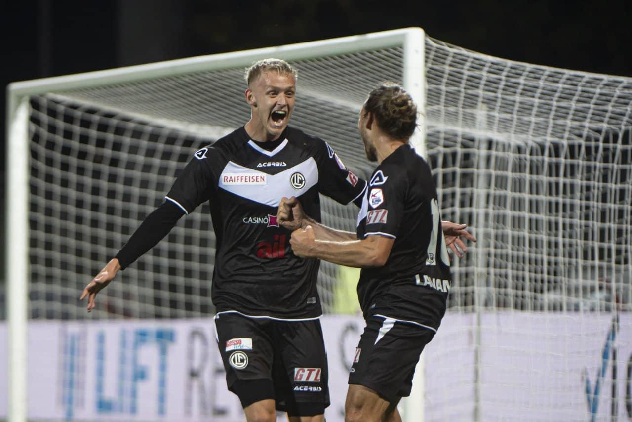 Jens Odgaard, in prestito dal Sassuolo al Lugano