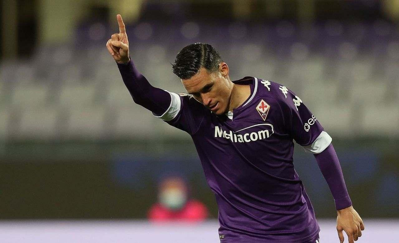 Josè Callejon, attaccante della Fiorentina