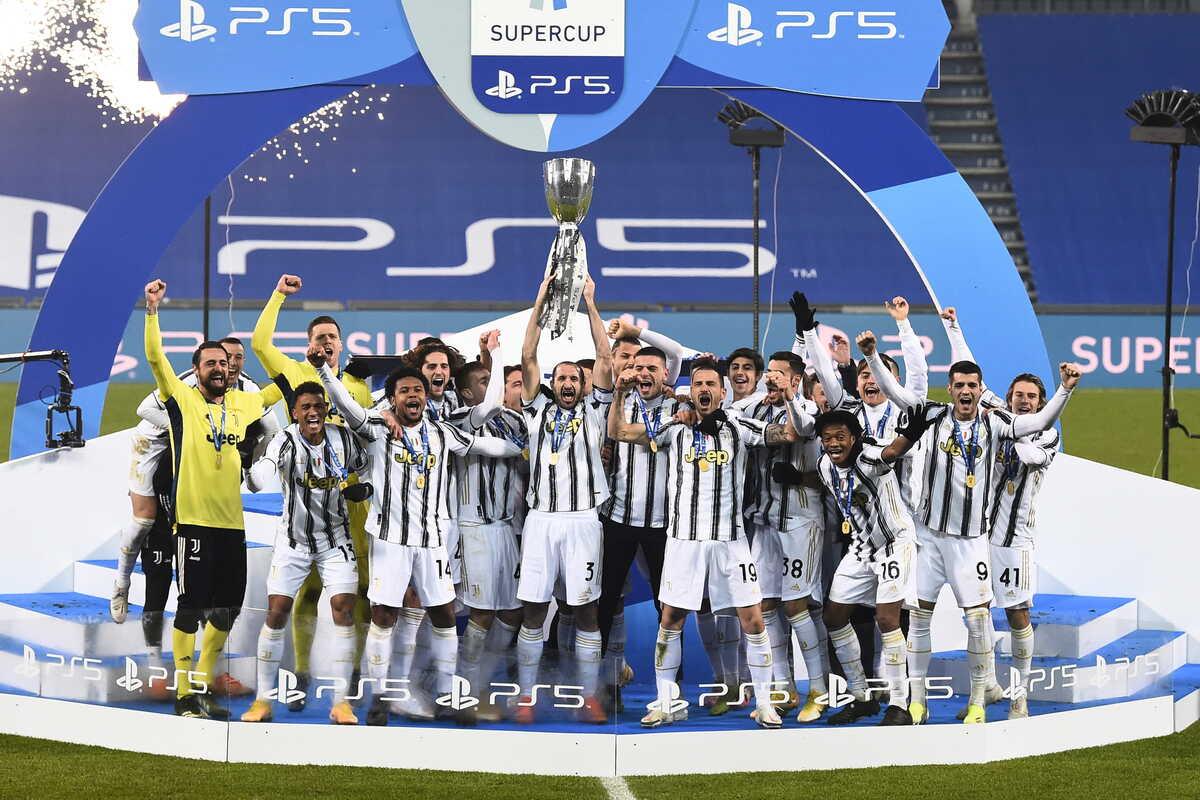 La Juventus trionfa in Supercoppa Italiana @Image Sport