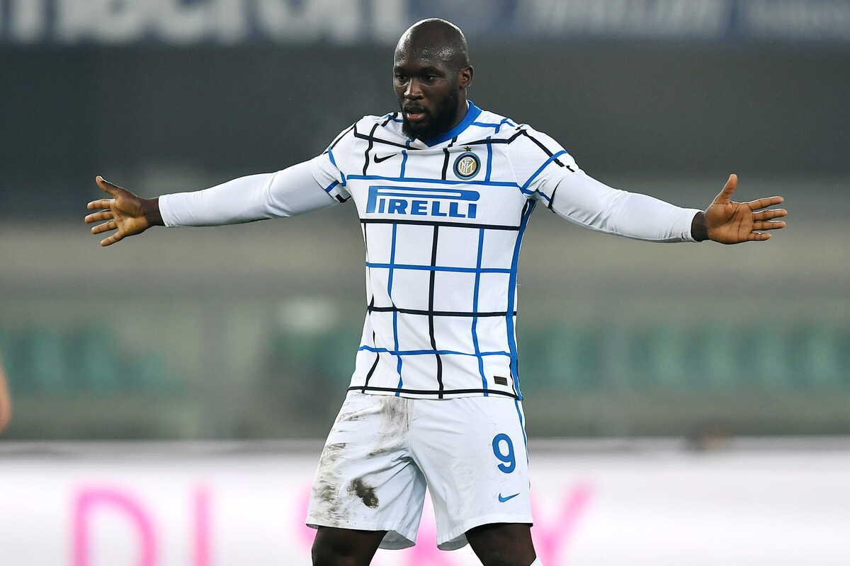Romelu Lukaku attaccante dell'Inter @Image Sport