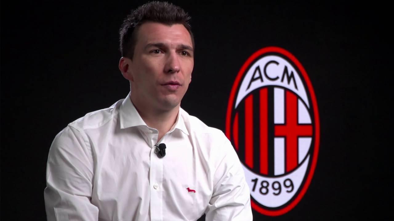 Mario Mandzukic, attaccante del Milan
