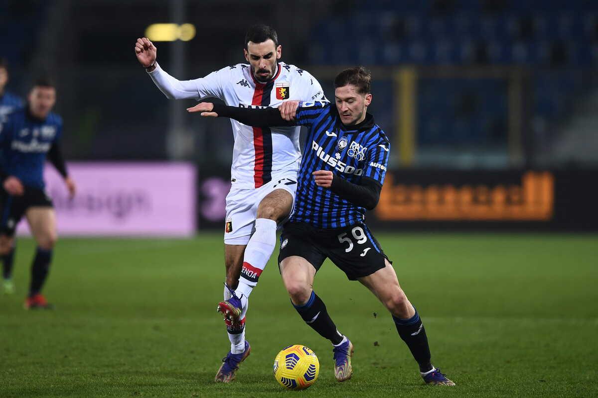 Aleksey Miranchuk, centrocampista dell'Atalanta @imagephotoagency