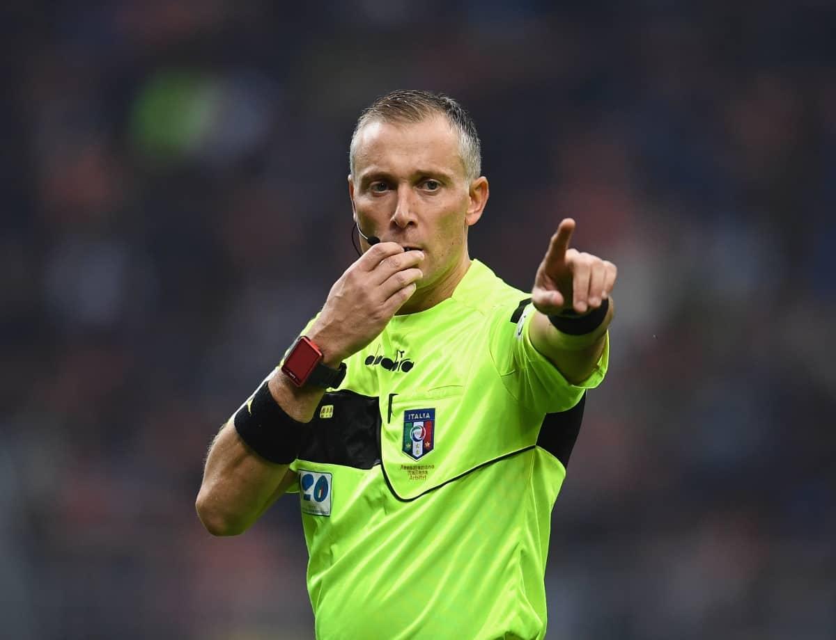 Paolo Valeri, arbitro di Serie A