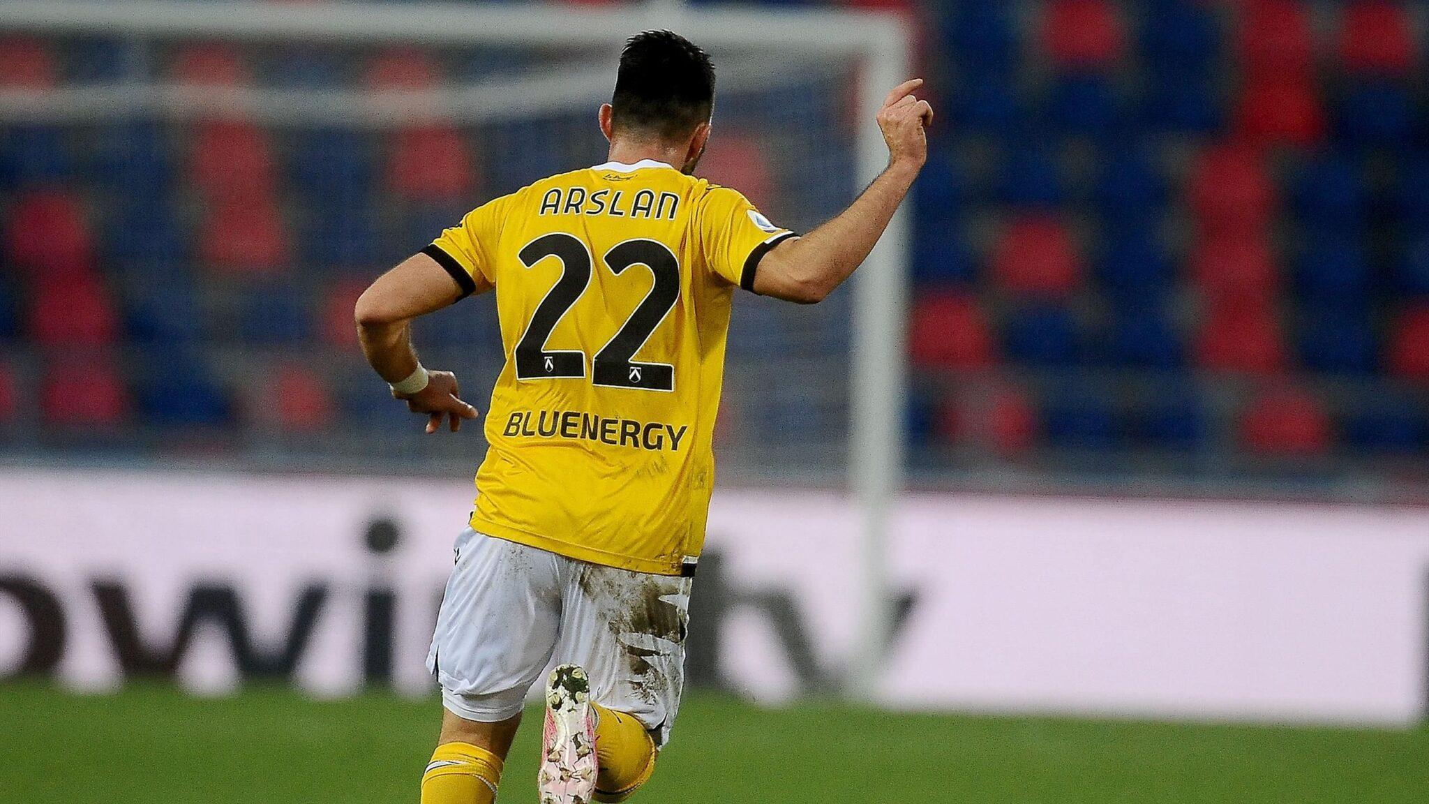Tolgay Arslan, centrocampista tedesco dell'Udinese