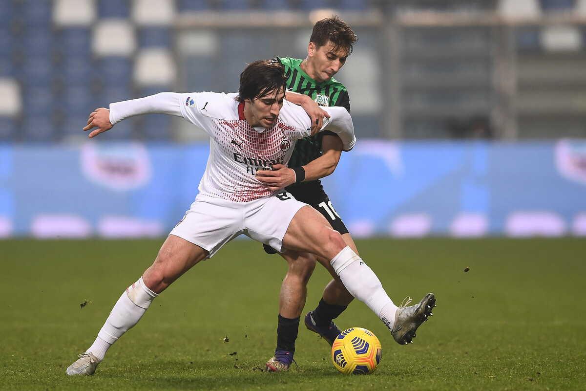 Sandro Tonali, centrocampista del Milan @imagephotoagency