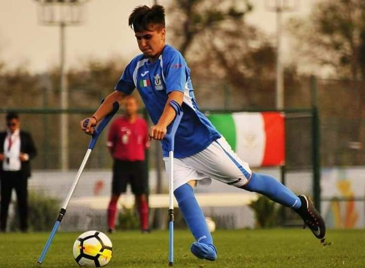 Emanuele Padoan, Nazionale Italiana Calcio Amputati