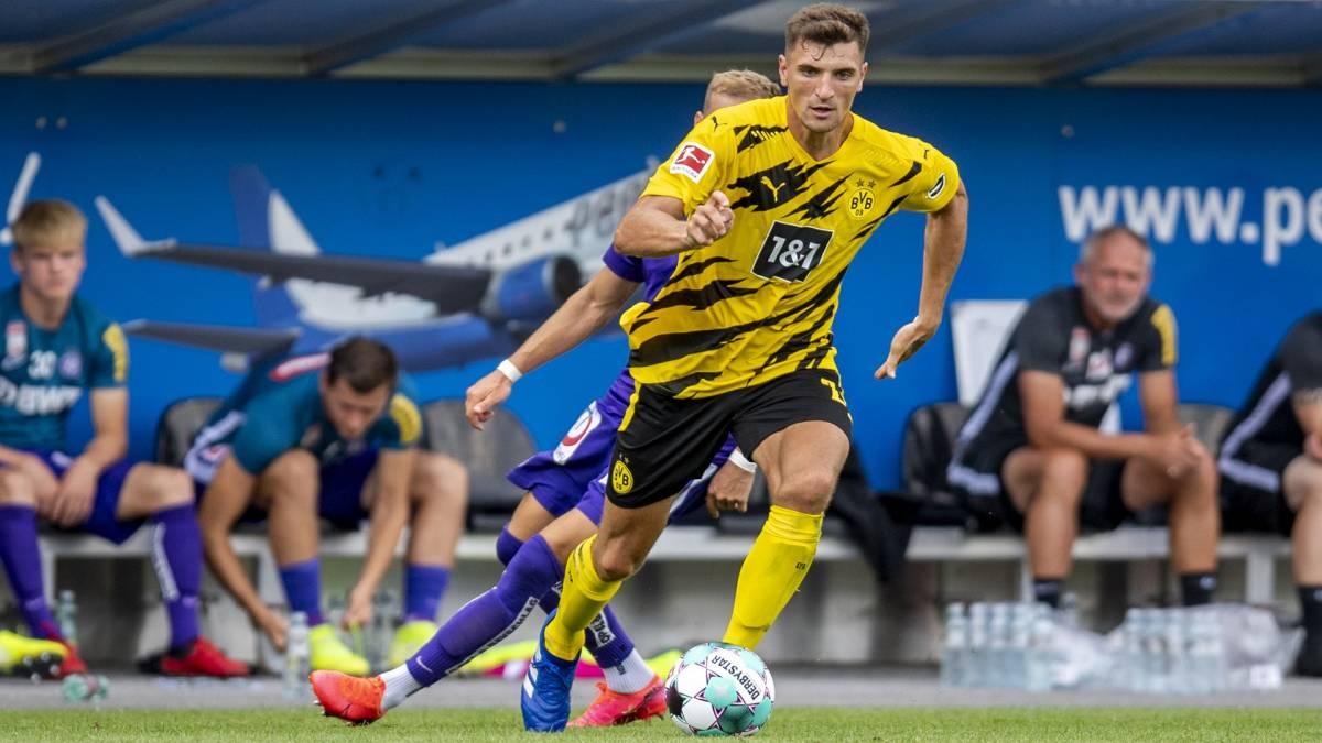 Thomas Meunier, terzino del Borussia Dortmund
