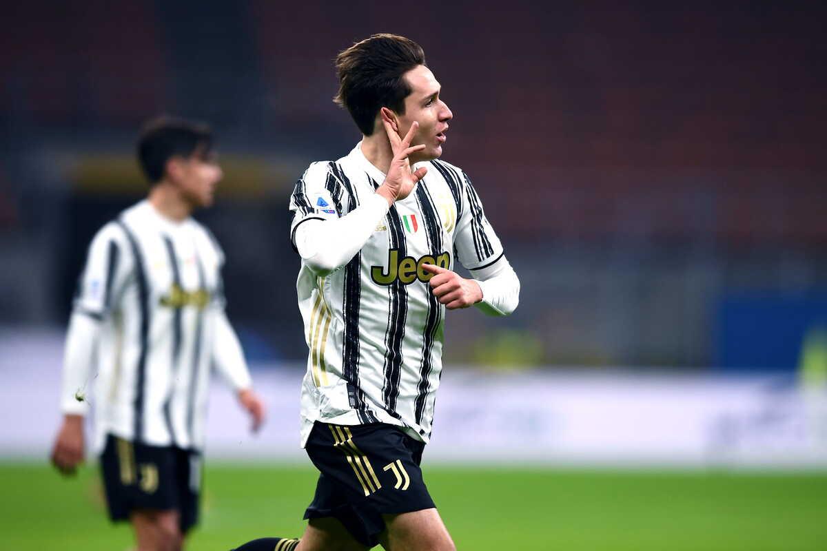Federico Chiesa, centrocampista della Juventus @Image Sport